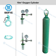 ISO9809-1 50L Medical Oxygen Gas Cylinder with Tulip Cap